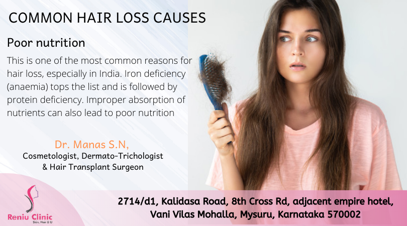 common hair loss causes